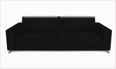 Imagem ilustrativa sofa de couro