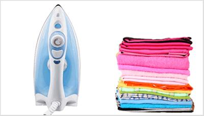 Saiba como limpar ferro de passar roupas