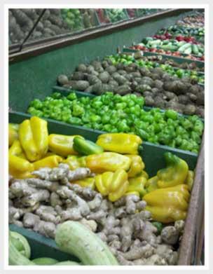Como lava e limpar verduras e frutas.