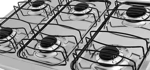 Aprenda como limpar um fogão.
