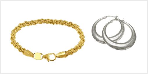 Imagem ilustrativa sobre o artigo de como limpar folheado a ouro ou prata.