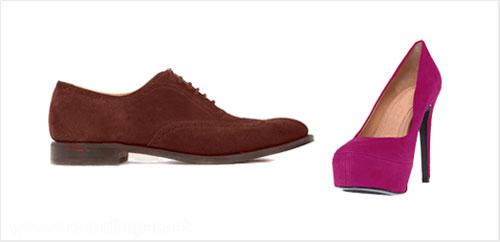 Imagem ilustrativa sobre como limpar calçados de camurça.