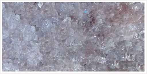 Mineral quartzo.
