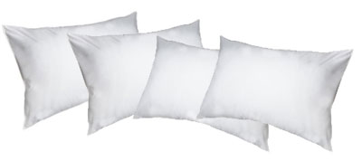 Como limpar travesseiros de poliéster.