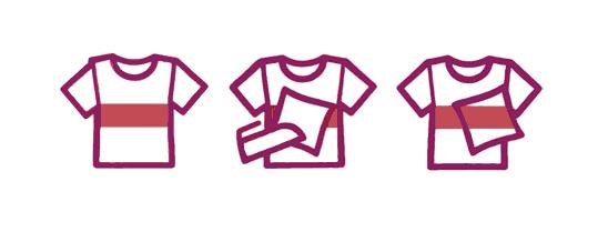 Como descobrir se a roupa solta tinta antes de lavar.