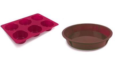 Como lavar formas de silicone