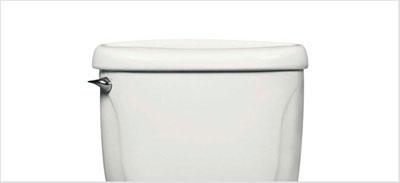 Como limpar o tanque da caixa acoplada do vaso sanitário.